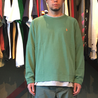 POLO RALPH LAUREN の LS TEE , SWEAT が入荷しました。
