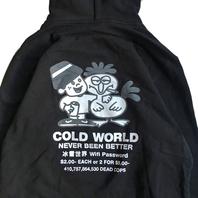 COLD WORLD FROZEN GOODS のアイテムが入荷しました。