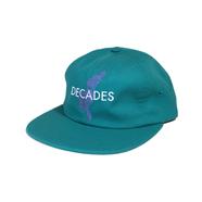 DECADES HAT / EAST COAST 6 PANEL (JADE)