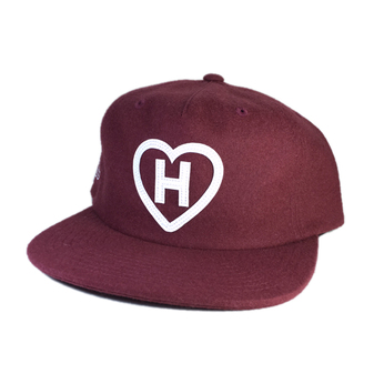 HALL OF FAME / H LOVE MELTON SNAPBACK CAP