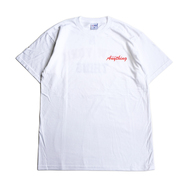 aNYthing / HOME TEAM TEE (WHITE)