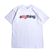 aNYthing / COMMUNITY TEE (WHITE)