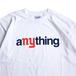 aNYthing / COMMUNITY TEE (WHITE)