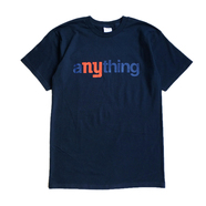 aNYthing / COMMUNITY TEE (NAVY)