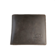 HERSHEL SUPPLY / HANK LETHER WALLET (NUBUCK)
