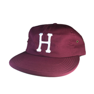 HUF / FORMLESS CLASSIC H 6 PANEL CAP (MAROON)