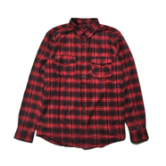 HUF / TARDY FLANNEL SHIRT (RED)