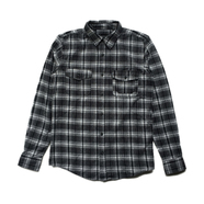 HUF / TARDY FLANNEL SHIRT (BLACK)
