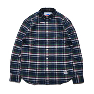 PENFIELD / BARRHEAD CHECK SHIRT (BLUE)