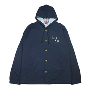 VISUAL / LA HOODED COACHES JACKET