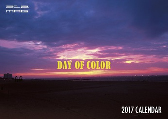 212.MAG / 2017 CALENDAR 『DAY OF COLOR』