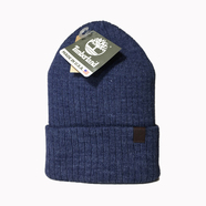 TIMBERLAND / RIBBED HEATHER WATCH CAP (NAVY)