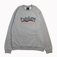 BELIEF / PEAK CREWNECK (GREY)