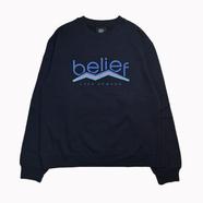 BELIEF / PEAK CREWNECK (NAVY)