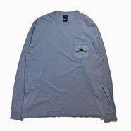 ONLY NY / CATSKILL L/S POCKET TEE (Concrete)