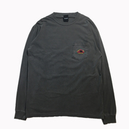 ONLY NY / CATSKILL LS POCKET TEE (Charcoal)