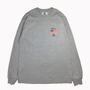 NOTHIN' SPECIAL / DON'T LET US DOWN LONG SLEEVE TEE (GREY)