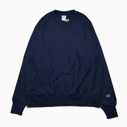 CHAMPION USA / REVERSE WEAVE CREW NECK (NAVY)