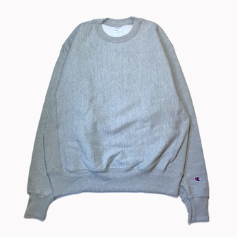 CHAMPION USA / REVERSE WEAVE CREW NECK (GREY)