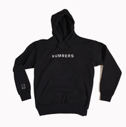 NUMBERS EDITION / WORDMARK HOODED FLEECE