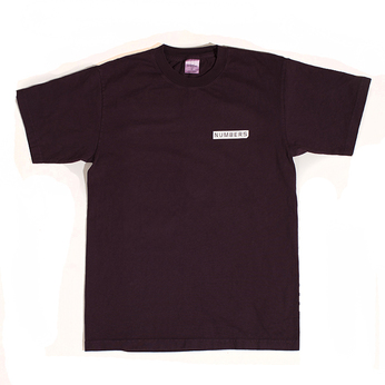 NUMBERS EDITION / MITERED LOGOTYPE TEE