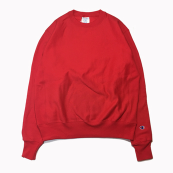 CHAMPION USA / REVERSE WEAVE CREW NECK (RED)
