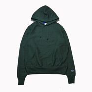 CHAMPION USA / REVERSE WEAVE HOODY (DARK GREEN)