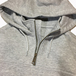 CARHARTT USA / Rain Defender Hooded Zip Mock Sweatshirt (GREY)