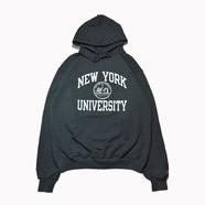 NYU (NEW YORK UNIVERSUTY) / COLLEGE LOGO HOODY