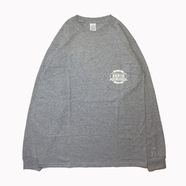 BENCH / LOGO POCKET LS TEE (GREY)