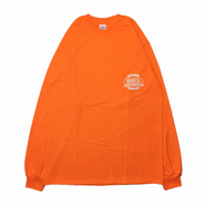 BENCH / LOGO POCKET LS TEE (ORANGE)