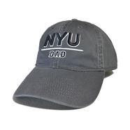 NYU (NEW YORK UNIVERSUTY) / NYU Dad Cap (GREY)