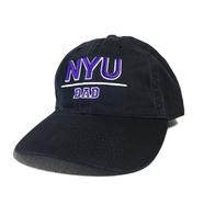 NYU (NEW YORK UNIVERSUTY) / NYU Dad Cap (BLACK)