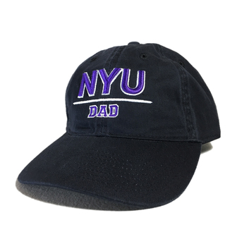 NYU (NEW YORK UNIVERSUTY) / NYU Dad Cap (BLACK)