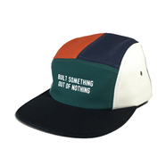 NOTHIN' SPECIAL / OUT OF NOTHING 5-PANEL CAMP CAP (MULTI)