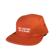 NOTHIN' SPECIAL / OUT OF NOTHING 5-PANEL CAMP CAP (ORANGE)
