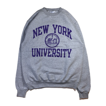 NYU (NEW YORK UNIVERSUTY) / COLLEGE LOGO SWEAT
