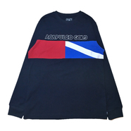 ACAPULCO GOLD / DIVER DOWN LONG SLEEVE TEE (NAVY)