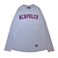 ACAPULCO GOLD / ARC RAGLAN LONG SLEEVE TEE (GREY)