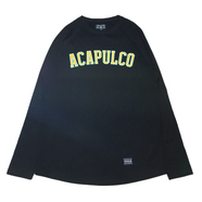 ACAPULCO GOLD / ARC RAGLAN LONG SLEEVE TEE (BLACK)