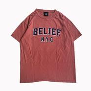 BELIEF / COLLEGE TEE (CUMIN)