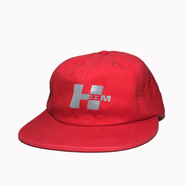 H33M / REFLECTIVE LOGO CAP (RED)