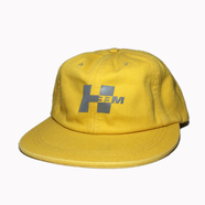 H33M / REFLECTIVE LOGO CAP (YELLOW)