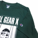 H33M / METAL GEAR X TEE (DARK GREEN)