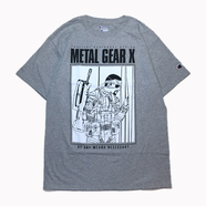 H33M / METAL GEAR X TEE (GREY)