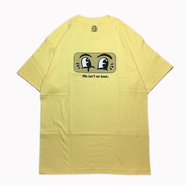 H33M / LIFE ISN'T SO BAD TEE (BANANA)