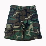PROPPER / 100%COTTON RIPSTOP BDU SHORTS (WOODLAND CAMO)