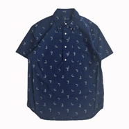 POLO RALPH LAUREN / SHARK HALF BUTTON SHIRT