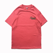 BENCH / SMALL COFFEE LOGO TEE (CORAL)