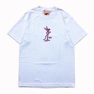 FELT / Pink Tony TEE (WHITE)